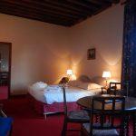 Appartement - Vue générale avec salon attenant - Chateau de Chissay - Hotels Particuliers K.P.