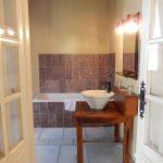 Chambre Piscine - Salle de bains - Chateau de Chissay - Hotels Particuliers K.P.