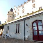 Vue sur les Chambres piscine au pied du Chateau - Chateau de Chissay - Hotels Particuliers K.P.